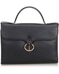 Dior Black Leather Everyday Bag