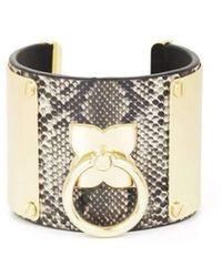 BCBGMAXAZRIA - Icon Ring Cuff Bracelet - Lyst