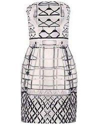 Mary Katrantzou Starbright Bustier Jacquard Dress - Multicolour