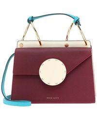Danse Lente Phoebe Bis Leather Shoulder Bag - Red
