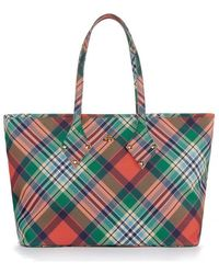 c9fd8cc677c0 Lyst - Vivienne Westwood Sharlenemania 7050 Large Quilted Bag With ...