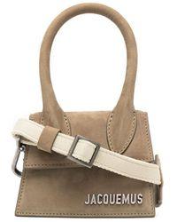 Jacquemus Le Chiquito Homme Mini Bag - Brown