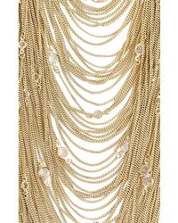 BCBGMAXAZRIA Zz- Bcbg Maxazria Gold Draped Chain Necklace - Metallic