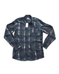 Dries Van Noten - Runway Corbin Print Sheer Silk Shirt - Lyst