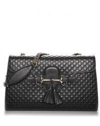 efa828ed0fe Gucci Nylon Ssima Light Messenger Bag in Blue - Lyst