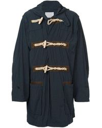 Kolor Blue Oversized Duffle Coat