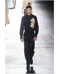 Dries Van Noten - 'cline Tris' Cotton Long Sleeve Runway Shirt - Lyst