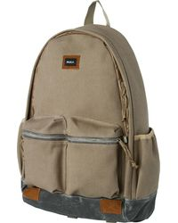 RVCA - Cresent Twill Backpack - Lyst