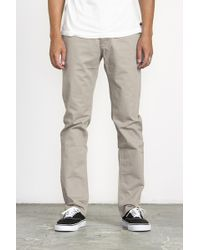 RVCA | Stay Pants | Lyst