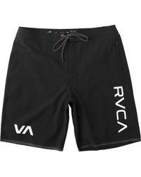 RVCA - Staff Iii Dual Layer Short - Lyst