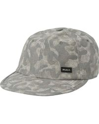 3f317296 Lyst - Rvca Sage Clipback Hat in Blue for Men