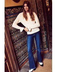 FABIENNE CHAPOT Eva Flare Denim Jeans - Blue