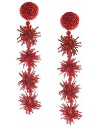 Sachin & Babi | Sparklers Earrings - Bordeaux | Lyst