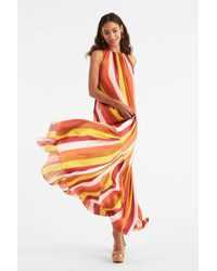 Sachin & Babi Marissa Gown - Orange