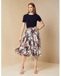 Sachin & Babi Brienne Skirt - Blue