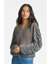 Sachin & Babi Oversized Madison Knit - Grey