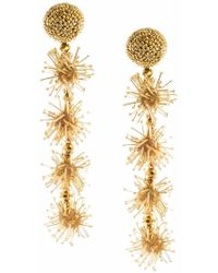 Sachin & Babi | Pre Order Sparklers Earrings | Gold | Lyst