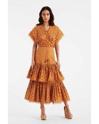 Sachin & Babi Amelia Skirt - Orange