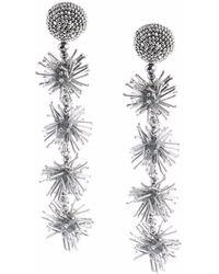 Sachin & Babi - Sparklers Earrings - Silver - Lyst