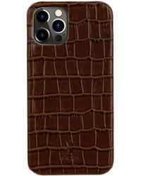St. Ash Iphone 12 Case Brown