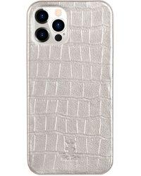 St. Ash Iphone 12 Case Silver - Multicolor