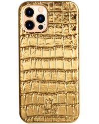 St. Ash Iphone 12 Case Gold - Metallic