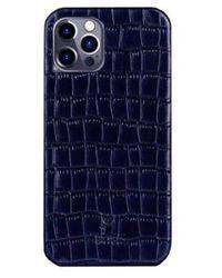 St. Ash Iphone 12 Case Super Dark Blue