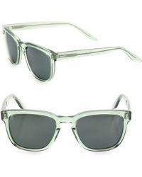 Barton Perreira - Coltrane Absint 54mm Square Sunglasses - Lyst