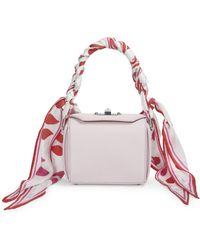 Alexander McQueen - Printed Scarf Box Bag 16 - Lyst