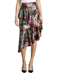 Delfi Collective | Isla Floral Ruffle Skirt | Lyst