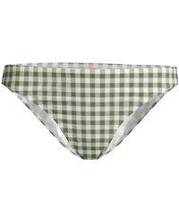 Tory Burch Gingham Hipster Bikini Bottom - Multicolor