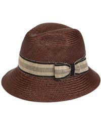 Barbisio - Brisa Panama Hat - Lyst