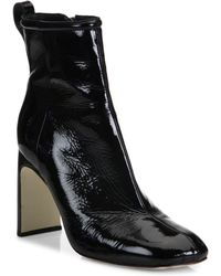 Rag & Bone - Ellis Patent Leather Ankle Boots - Lyst