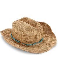 Melissa Odabash - Elle Cowboy Hat - Lyst