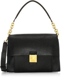 Furla - Medium Diva Leather Shoulder Bag - Lyst