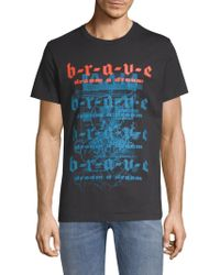 DIESEL - Graphic Print T-shirt - Lyst