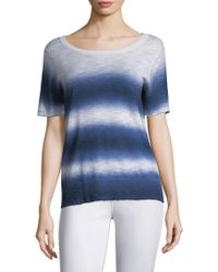 Feel The Piece - Macy Ombre T-shirt - Lyst