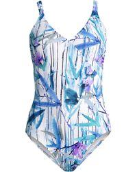 7fb461f30c57 Gottex - Exotic Paradise Surplice One-piece Swimsuit - Lyst