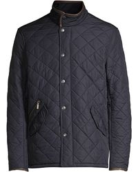 Barbour Powell Quilted Jacket - Blue