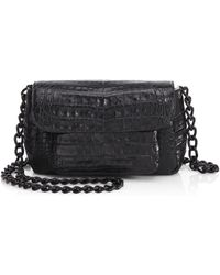 Nancy Gonzalez - Mini Croc Crossbody Bag - Lyst