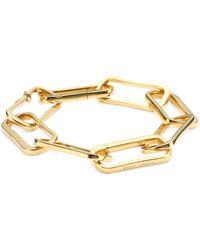 Monica Vinader Alta Capture 18k Gold Vermeil Chain Bracelet - Metallic