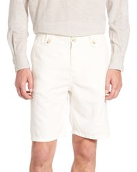 Eidos - Cotton Blend Shorts - Lyst
