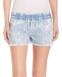 Generation Love - Alexa Denim Cut Off Shorts - Lyst