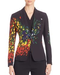 ESCADA - Hand-painted Long Sleeve Jacket - Lyst