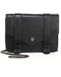 Proenza Schouler - Ps1 Large Leather Chain Wallet - Lyst