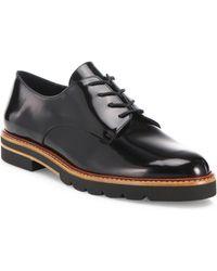 Stuart Weitzman - Metro Patent Leather Oxfords - Lyst