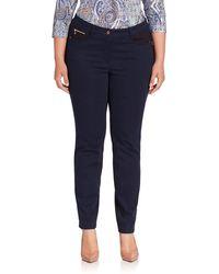 Basler - Sally Jersey Slim-fit Jeans - Lyst