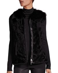 Polo Ralph Lauren Shearling Vest - Black