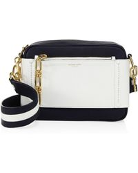 294ee8ffc3e570 Michael Kors - Julie Small Colorblock Leather Camera Bag - Lyst