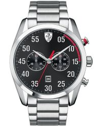 Scuderia Ferrari D50 Stainless Steel Chronograph Watch - Metallic
